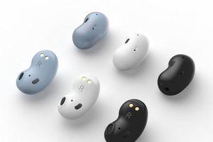 Rò rỉ thiết kế tai nghe không dây mới của Samsung, nhìn như hạt đậu