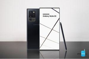 Lộ cấu hình Galaxy Note 20 Plus 5G - flagship sắp ra mắt của Samsung