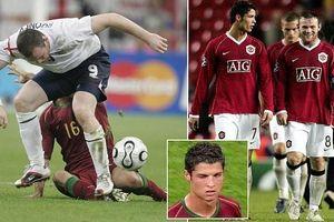 Wayne Rooney lên tiếng vụ Ronaldo khiến anh bị đuổi khỏi World Cup 2006