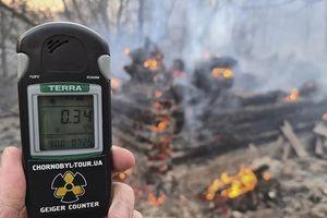 Mức phóng xạ tăng sau cháy rừng gần Chernobyl ở Ukraine