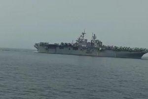 Iran chặn tàu đổ bộ tấn công lớn nhất của Mỹ