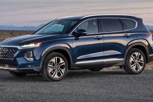 Hyundai SantaFe 2019 ưu đãi khủng, giảm giá từ 80 đến 124 triệu đồng
