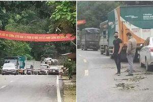Không có chuyện cấm các loại xe lưu thông qua tỉnh Sơn La