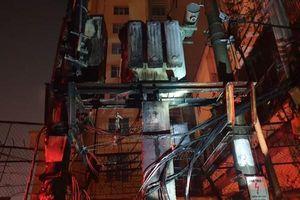 Chập cháy dây điện cách cây xăng chưa đầy 200 mét