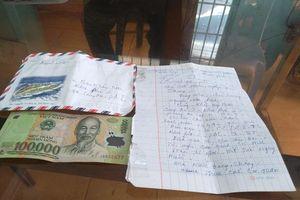 Xúc động tâm thư cụ già 71 tuổi góp 100.000 đồng chống COVID