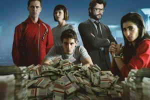 Phim cướp nhà băng Tây Ban Nha có dấu hiệu đuối sức ở mùa 4