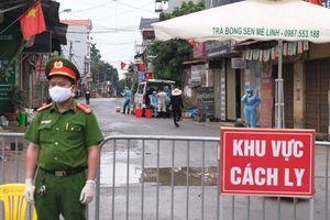 Huyện Mê Linh: Cách ly tập trung 66 trường hợp liên quan đến ca mắc Covid-19