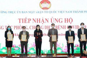 Hà Nội tiếp nhận hơn 27 tỷ đồng tiền ủng hộ công tác phòng, chống dịch Covid-19
