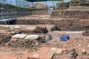 Tiếp tục phát hiện nhiều lớp di tích kiến trúc ở Khu di sản Hoàng thành Thăng Long