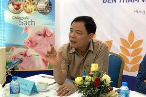 Bộ trưởng Nông nghiệp lý giải vì sao giá thịt lợn vẫn quá đắt