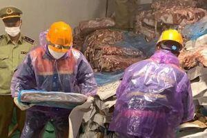 Hải Dương: Hơn 72 tấn lòng lợn bốc mùi suýt tuồn ra thị trường