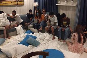 Tụ tập trong căn hộ chung cư ở Sài Gòn để tổ chức tiệc bóng cười, 6 người dương tính với ma túy