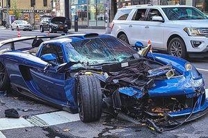 Siêu xe cực hiếm Gemballa Mirage GT 'nát đầu' sau tai nạn liên hoàn