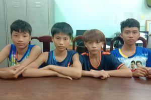 Băng trộm 'nhí' thực hiện hàng loạt vụ án ở Bình Phước