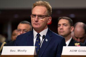 Quyền Bộ trưởng Hải quân Mỹ Thomas Modly quyết định từ chức