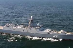 Tàu khu trục mới nhất của Nga đi qua Biển Na Uy sau khi thử nghiệm