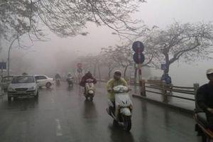 Tin tức thời tiết ngày 8/4/2020: Khu vực Hà Nội có mưa, trời rét
