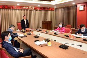 Bí thư Thành ủy Hà Nội đề nghị xây dựng một trung tâm báo chí của thành phố