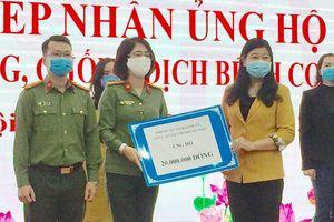 Mặt trận Thành phố Hà Nội tiếp nhận ủng hộ trị giá hơn 1,5 tỷ đồng phòng chống dịch Covid-19