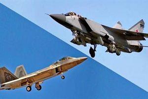 Military Watch: MiG-31 không cho F-22 bất kỳ một cơ hội nào