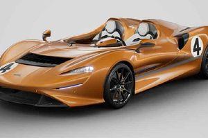 Siêu xe McLaren Elva phối màu xế đua M6A từ MSO