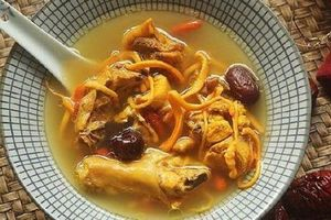 Không chỉ là món súp gà, cách nấu này sẽ là một bài thuốc tăng cường sức khỏe