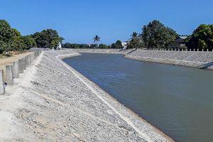 Kè sông Trường: Ngăn sạt lở, bảo vệ khu dân cư