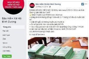 Cảnh báo tình trạng mạo danh tài khoản Facebook mang tên cơ quan BHXH để thu gom sổ BHXH của người lao động