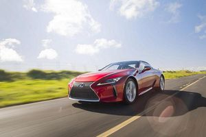 Ra mắt xe sang thể thao Lexus LC Coupe 2021 mới