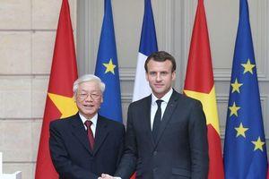 Đưa quan hệ Việt Nam-Pháp phát triển lên tầm cao mới