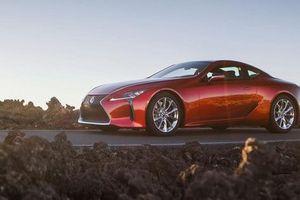 Lexus chuẩn bị nâng cấp LC Coupe nhằm đối đầu Mercedes S-Coupe