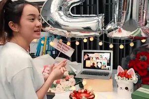 Kaity Nguyễn, Lan Ngọc tổ chức sinh nhật online