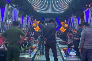 Bắt giữ 11 người tập tụ hát karaoe và sử dụng ma túy