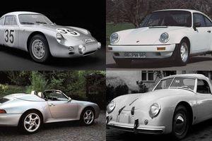 10 chiếc xe Porsche siêu hiếm, số lượng đếm trên đầu ngón tay