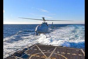 MQ-8C nối dài tầm đánh cho tàu LCS