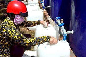 Hỗ trợ khẩn cấp nước ngọt cho Đồng bằng sông Cửu Long
