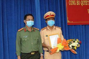 Bộ trưởng Bộ Công an bổ nhiệm Trưởng Công an TP Tây Ninh