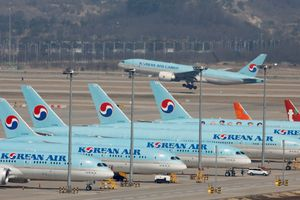 Hãng hàng không Korean Air đình chỉ tuyến bay Incheon-Washington