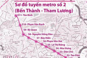 Tháng 6 sẽ có đủ mặt bằng để làm metro số 2