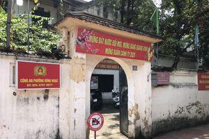 Hà Nội: Gỡ bỏ cách ly y tế trụ sở công an phường Đông Ngạc