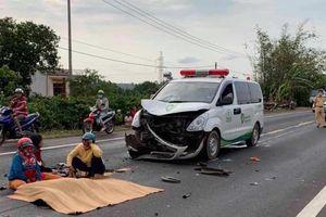 Đâm phải xe chở thi thể, chàng trai 18 tuổi thiệt mạng