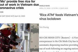 Sau khi báo chí quốc tế đồng loạt ca ngợi sáng kiến cây 'ATM gạo' miễn phí của Việt Nam, cư dân mạng thế giới tiếp tục bình luận với tất cả sự thán phục và ghen tị