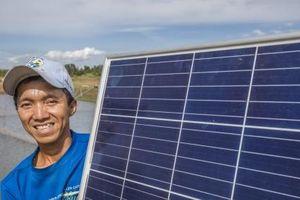 Kết hợp nuôi thủy sản với sản xuất điện mặt trời