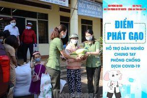 Đắk Lắk: Phát gạo hỗ trợ người khiếm thị chống dịch COVID-19