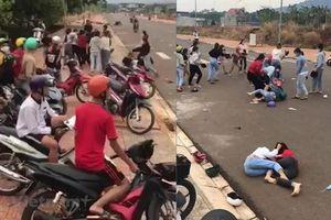 Hai nhóm nữ sinh Bình Phước đánh nhau kinh hoàng vì 500 nghìn đồng
