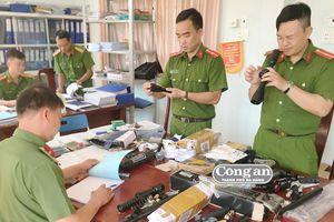Bắt giữ nhiều đối tượng mua bán linh kiện súng tự chế