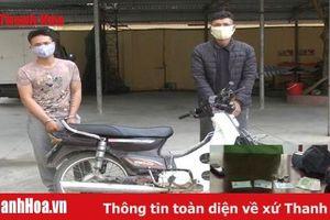 Công an huyện Nga Sơn: Bắt giữ 2 đối tượng cướp giật tài sản