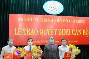 TP.HCM, Đà Nẵng điều động, bổ nhiệm lãnh đạo mới