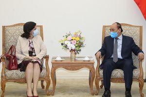 Thủ tướng Nguyễn Xuân Phúc tiếp Đại sứ Cuba tại Việt Nam