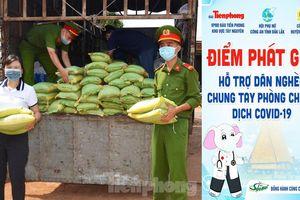 Bí thư Tỉnh ủy Đắk Lắk ủng hộ chương trình phát gạo cho dân nghèo vùng sâu